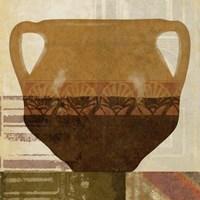 Ethnic Pot II Framed Print