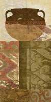 Ethnic Pot III Framed Print