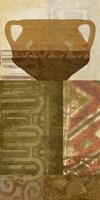 Ethnic Pot IV Framed Print