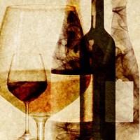 Smokey Wine I Framed Print