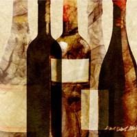 Smokey Wine IV Framed Print