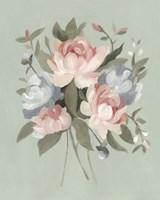 Pastel Bouquet I Framed Print