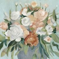 Soft Pastel Bouquet I Fine Art Print