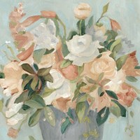 Soft Pastel Bouquet II Fine Art Print