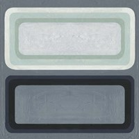Maritime Color Field II Framed Print