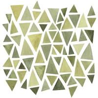 Celadon Geometry II Framed Print