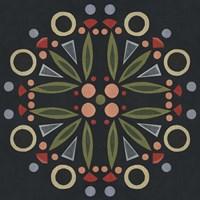 Folk Mandala I Fine Art Print