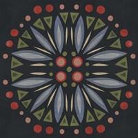 Folk Mandala III Fine Art Print