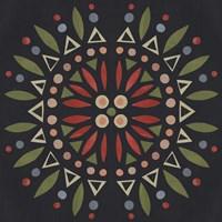 Folk Mandala IV Fine Art Print