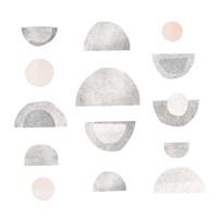 Half Circles II Framed Print