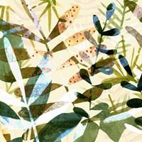 Technicolor Jungle I Framed Print