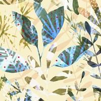Technicolor Jungle II Framed Print