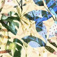 Technicolor Jungle III Framed Print
