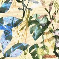 Technicolor Jungle IV Framed Print