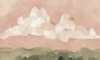 Pink Haze Sunset I Framed Print