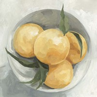 Fruit Bowl I Framed Print