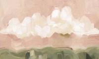 Pink Haze Sunset II Framed Print