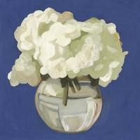 White Hydrangeas I Fine Art Print