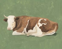 How Now Brown Cow I Fine Art Print