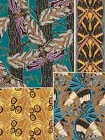 Decorative Butterflies I Framed Print