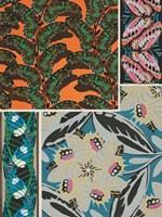 Decorative Butterflies II Framed Print