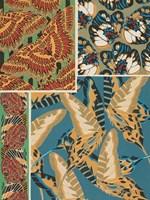 Decorative Butterflies IV Framed Print