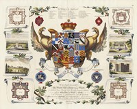 Baronagium Genealogicum Fine Art Print
