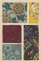 Japanese Textile Design I Fine Art Print