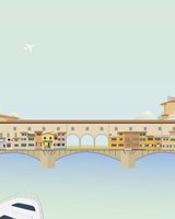 Travel Europe--Ponte Vecchio Fine Art Print