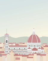 Travel Europe--Firenze Fine Art Print