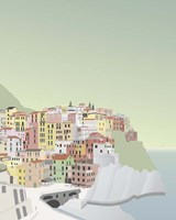 Travel Europe--Manarola Fine Art Print