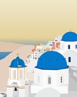 Travel Europe--Santorini Fine Art Print