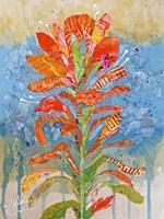 Indian Paintbrush Collage I Fine Art Print