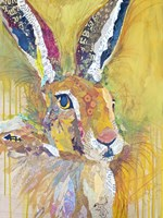 Harriet The Hare Fine Art Print