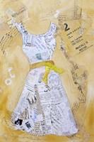 Dress Whimsy III Framed Print