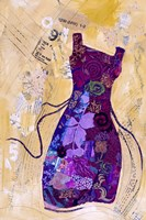 Dress Whimsy IV Framed Print