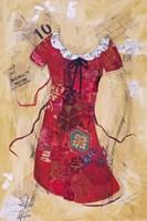 Dress Whimsy V Fine Art Print