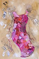 Dress Whimsy VI Framed Print