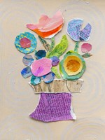 Flower Pot III Framed Print