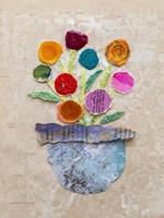 Flower Pot IV Framed Print