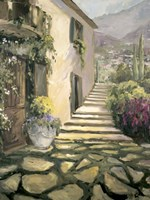 Italian Villa II Framed Print