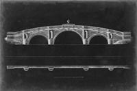 Bridge Schematic IV Framed Print
