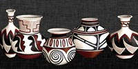 Mexican Pottery Fine Art Print