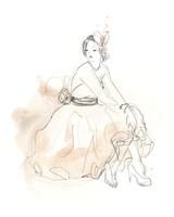 Blush & Grey Fashion II Fine Art Print