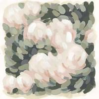 Blush & Celadon I Framed Print