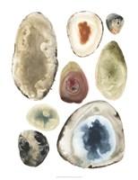 Geode Collection I Framed Print
