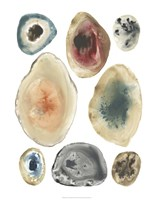 Geode Collection III Framed Print