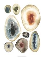 Geode Collection IV Framed Print