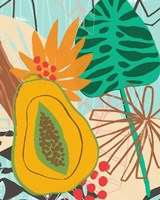 Graphic Jungle II Framed Print