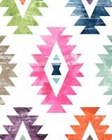 Aztec Brights I Framed Print